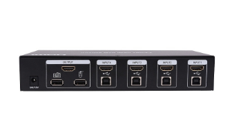 SX-KVM401 - 4 port HDMI+USB KVM Switch