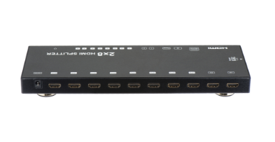 SX-SP248-HD3D - 2x8 HDMI Splitter+Switch, 3D, 1080p