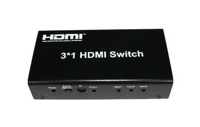 SX-SW03 - 3x1 HDMI Switch with remote control