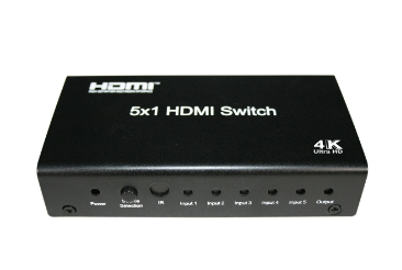 SX-SW04-4K2K - 5x1 HDMI Switch with remote control