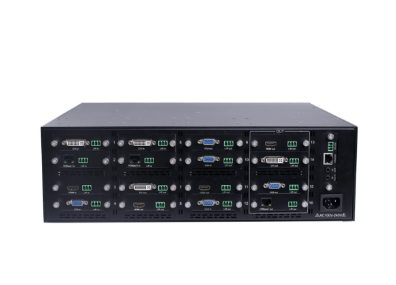 SX-VMX16 - Flexible Modular Seamless Switching Matrix, 1 in 15 out~12 in 4 out